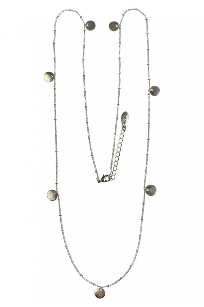 Hultquist Jewellery Nordic Minimalism Silver Coin Pendant Necklace
