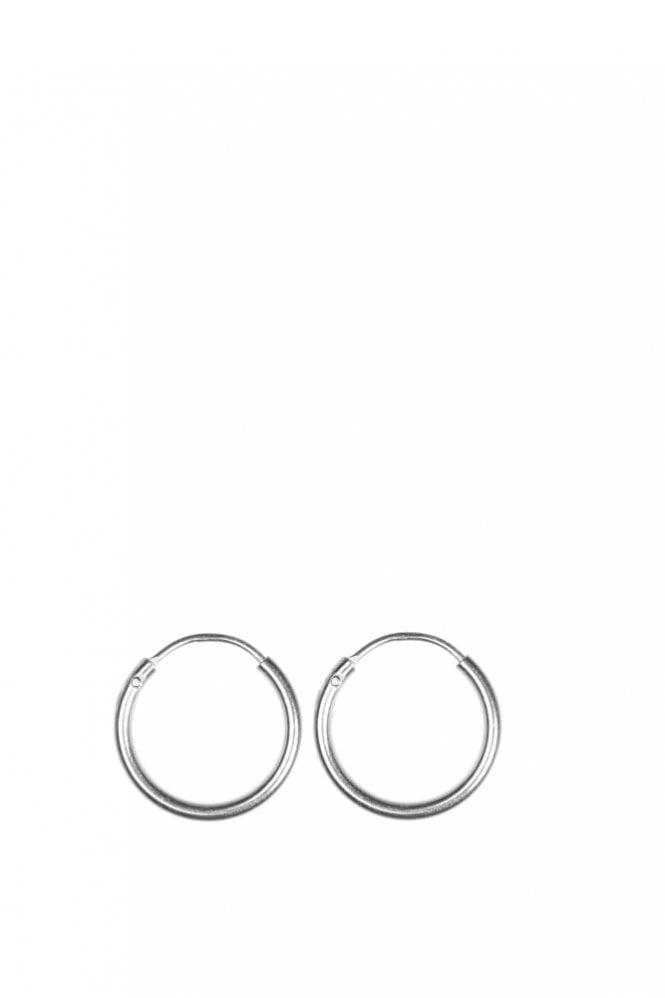 Hultquist Jewellery Sterling Silver Small Hoop Earrings