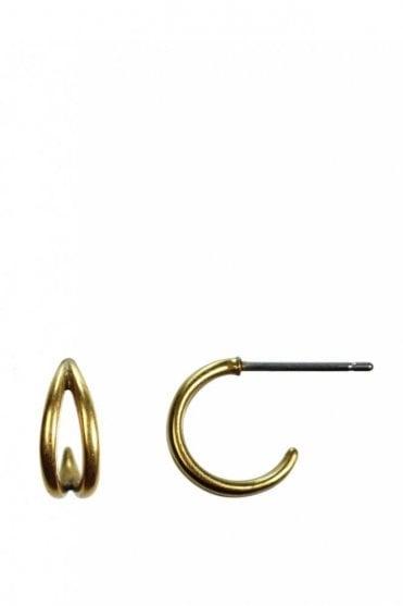 Urban Luxe Gold Hoop Earrings