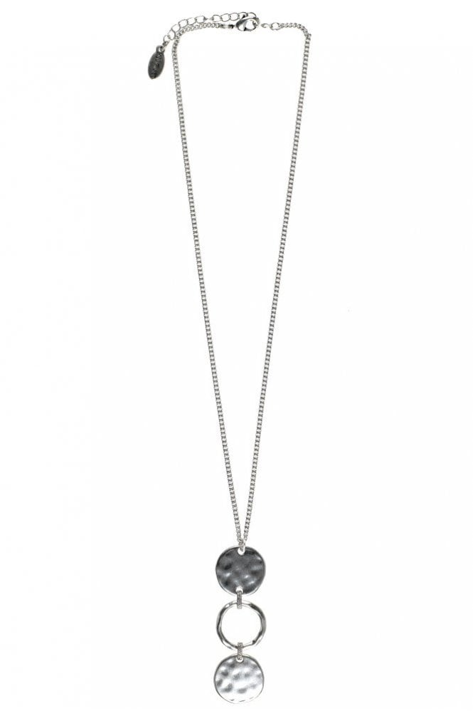 Hultquist Linking Coin Silver Coin Necklace