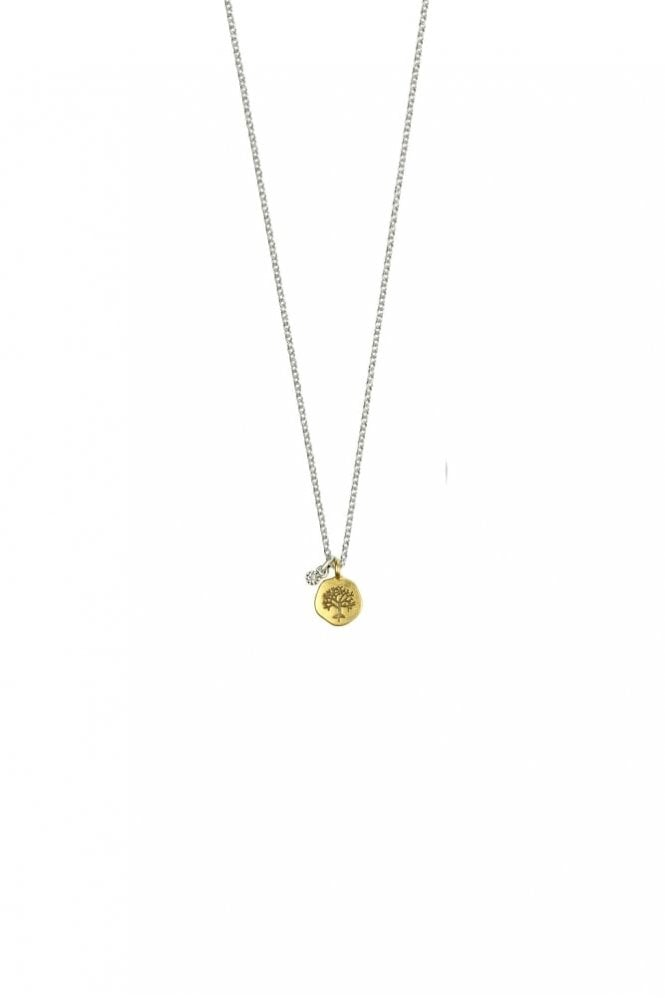 Hultquist Nature Gold and Silver Pendant Necklace