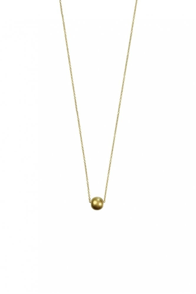 Hultquist New Nordic Gold Ball Necklace