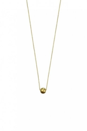 New Nordic Gold Ball Necklace