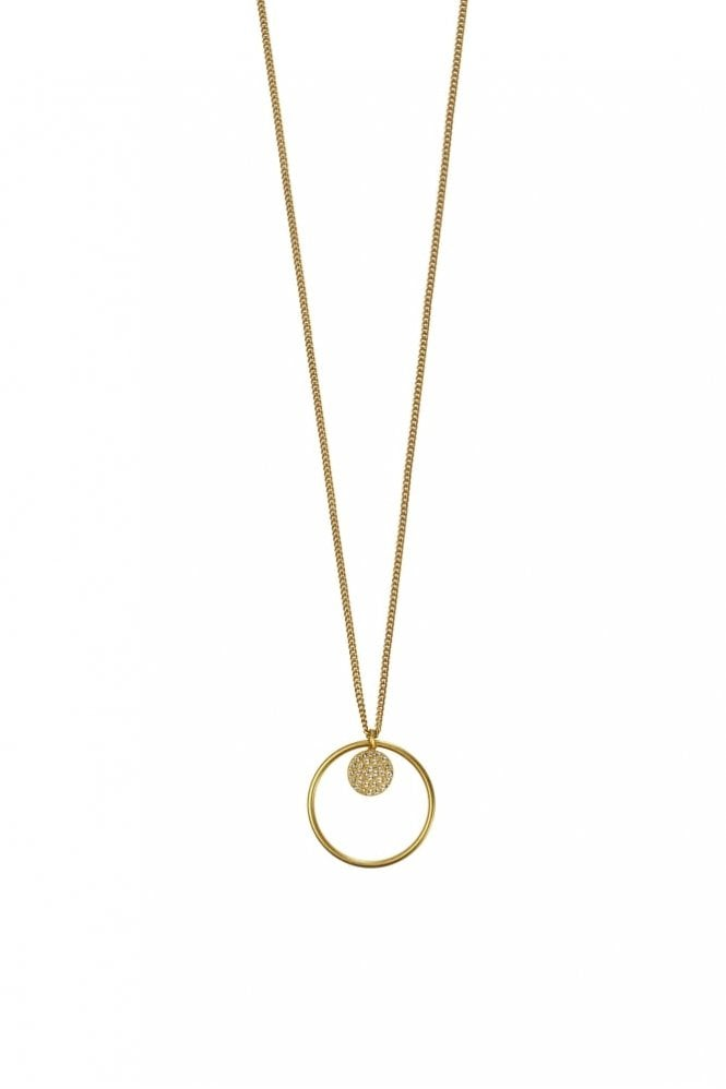 Hultquist Jewellery New Nordic Gold Long Pendant Necklace