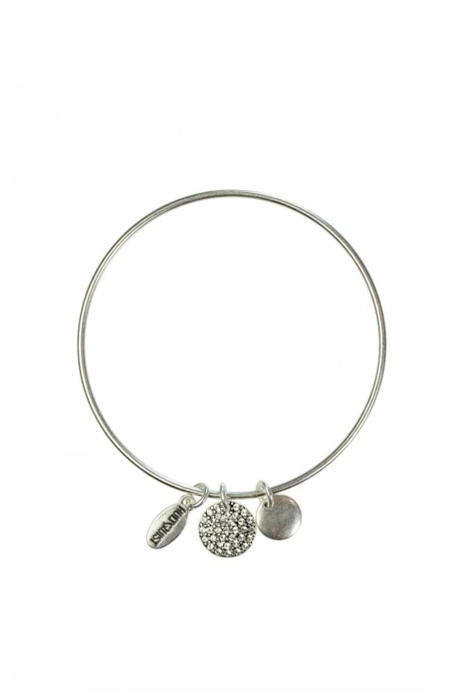 Hultquist New Nordic Silver Charm Bangle
