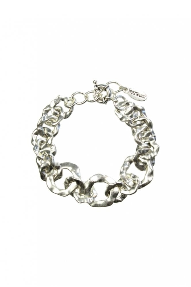 Hultquist Organic Circle Silver Bracelet