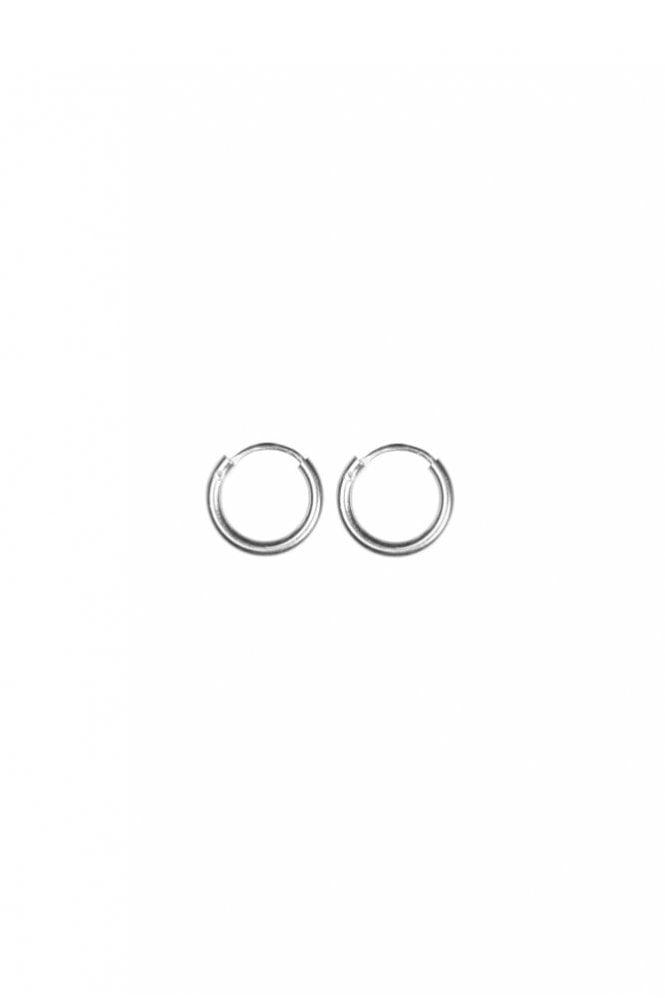 Hultquist Sterling Silver 10mm Hoop Earrings