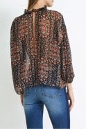 Hunkydory Floral Pleat Blouse