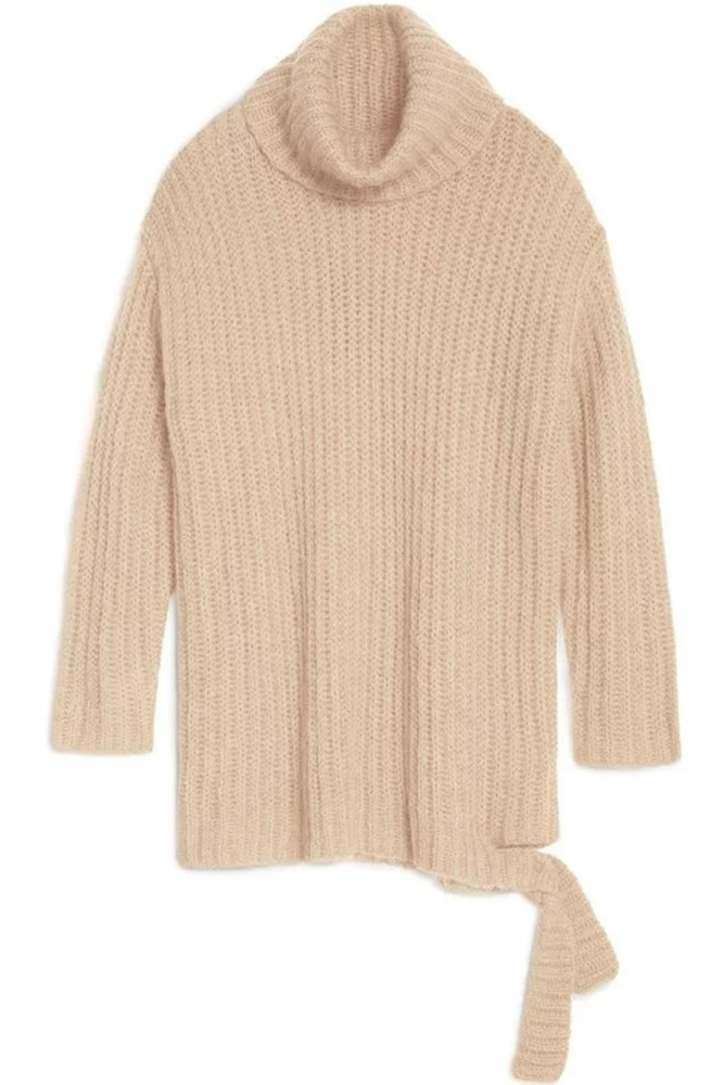 3226624bfdf73 Hunkydory Hailey Cowl Knit in Sand at Sue Parkinson