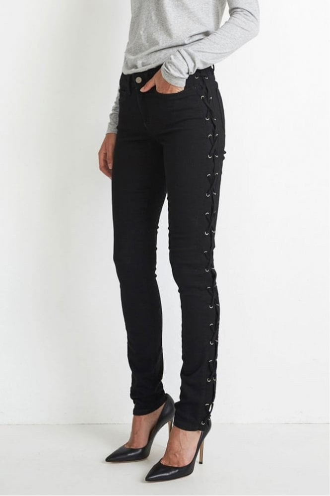 Hunkydory Harley Jean in Black Wash with Rinse