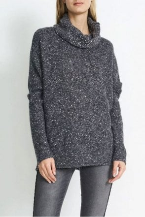 Mia Sparkle Box Knit