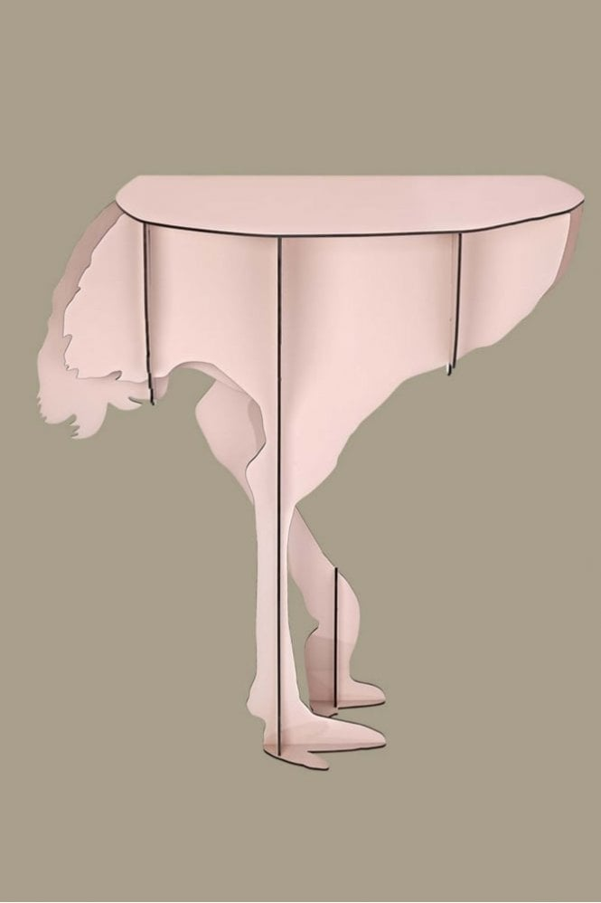 iBride Mobilier De Compagnie Ostrich Wall console – Pink