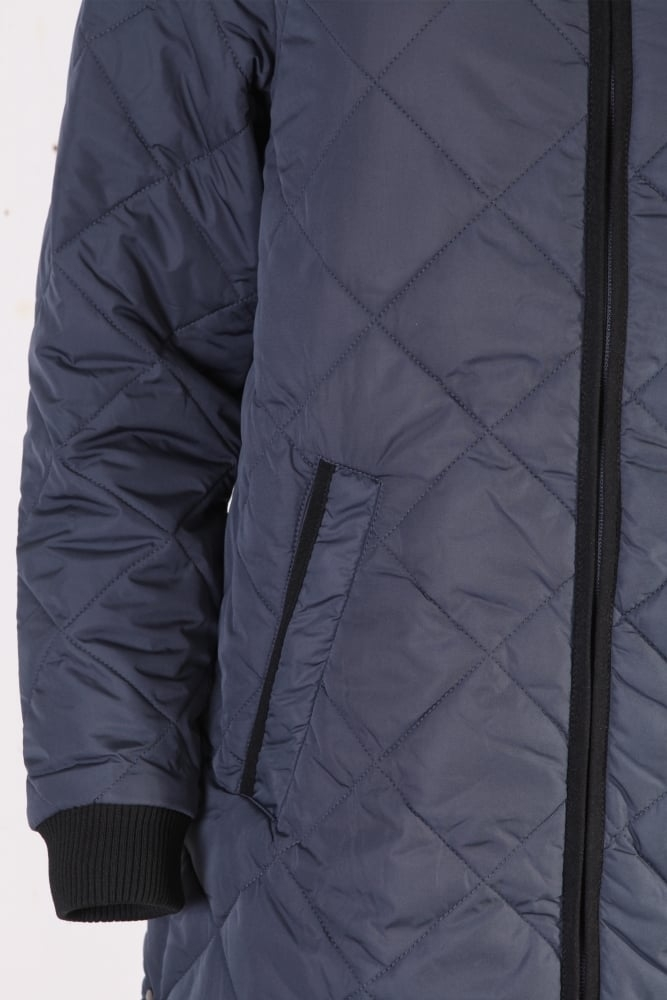 683eb7982009 Ilse Jacobsen Art 01 Padded Quilt Coat in India Ink at Sue Parkinson