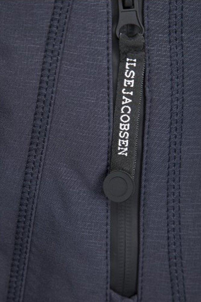 f26b1131f4cc Ilse Jacobsen RAIN07 Hip-Length Softshell Raincoat in Indigo