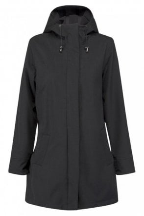 RAIN50 Thigh-Length Raincoat in Black