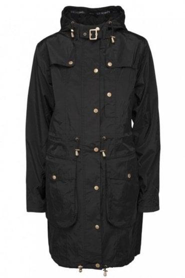 WIND06 Womens Wind Jacket in Black