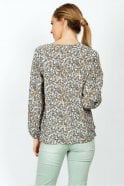 Indi and Cold Boho Floral-Print Tunic in Azafrán
