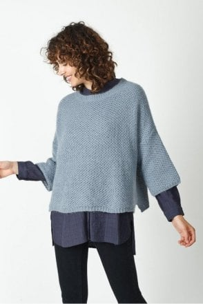 Mohair Basket Weave Sweater