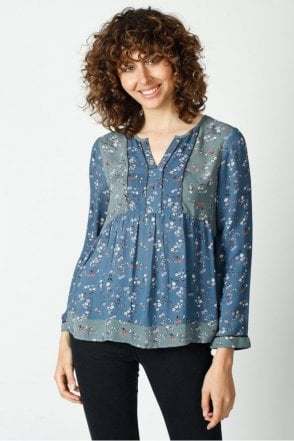 Patchwork Ethnic Tunic