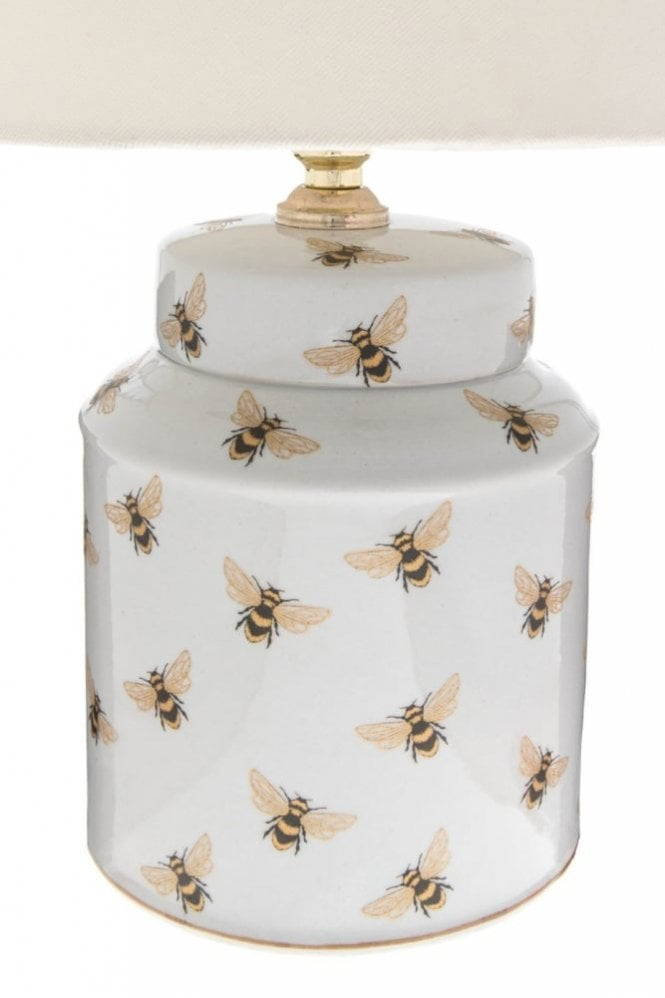 India Jane Bee Canister Lamp Base