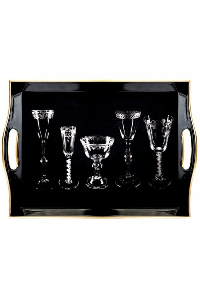 India Jane Drinking Glass Al Fresco Tray