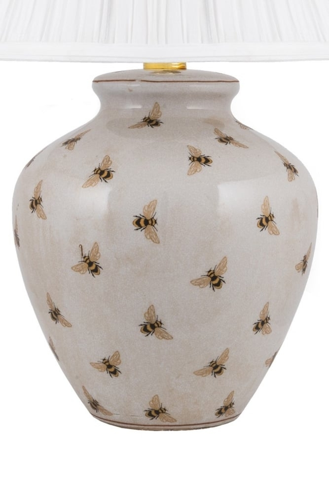 India Jane Small Bee Lamp Base At Sue, Table Lamps India Jane