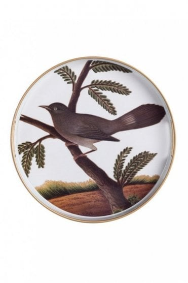 V&A Round Tray – Indian Birds I
