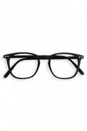 LetMeSee #E Reading Glasses in Black