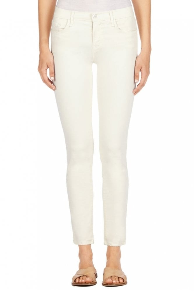 J Brand 8312 Mid-Rise Cropped Rail in Tropez
