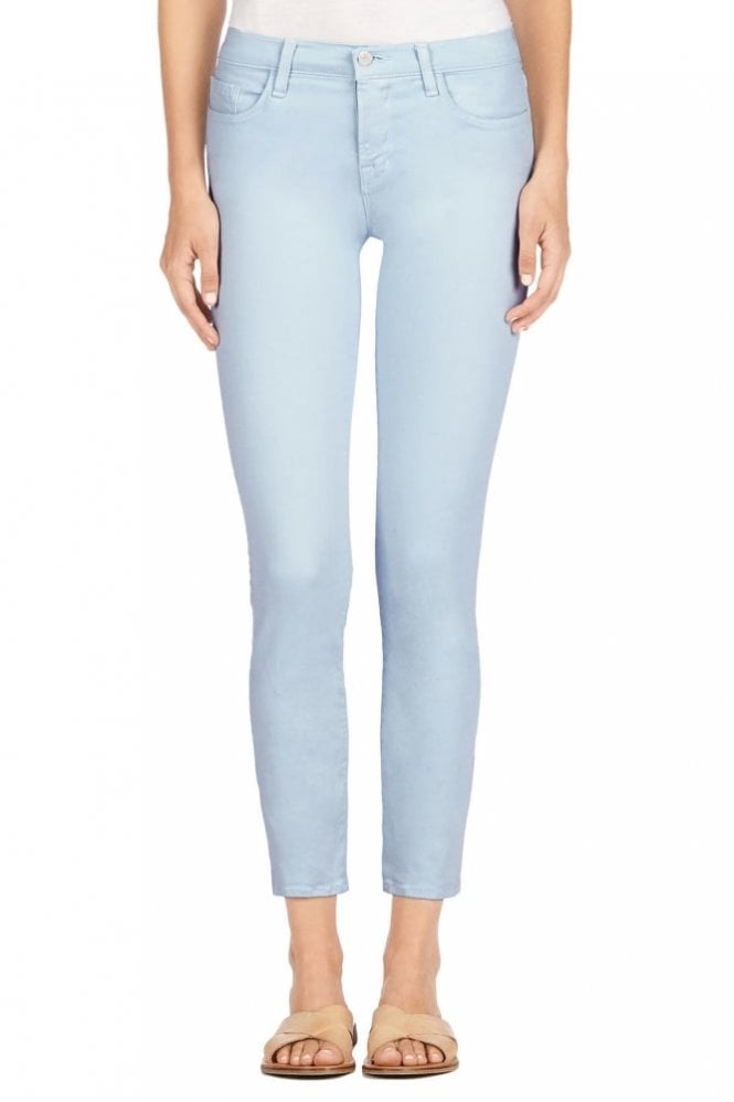 J Brand 8312 Mid-Rise Cropped Rail in Winter Sky