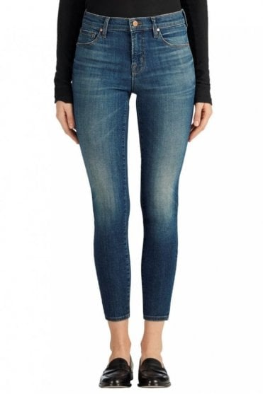 835 Mid-Rise Capri Crop Jean in Sublime