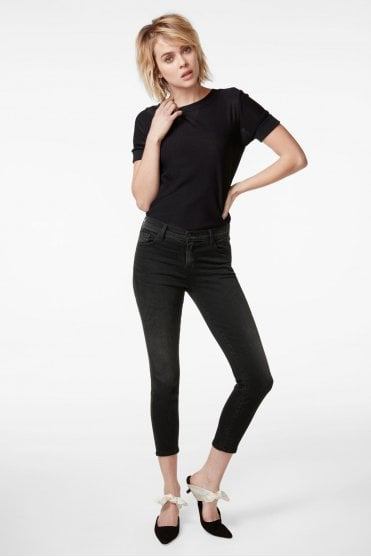 835 Mid-Rise Cropped Skinny in Nevermore