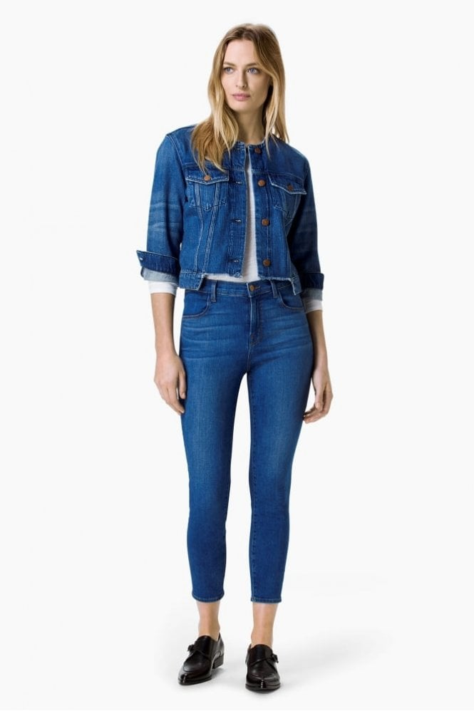 J Brand Alana High-Rise Crop Jean in Connection