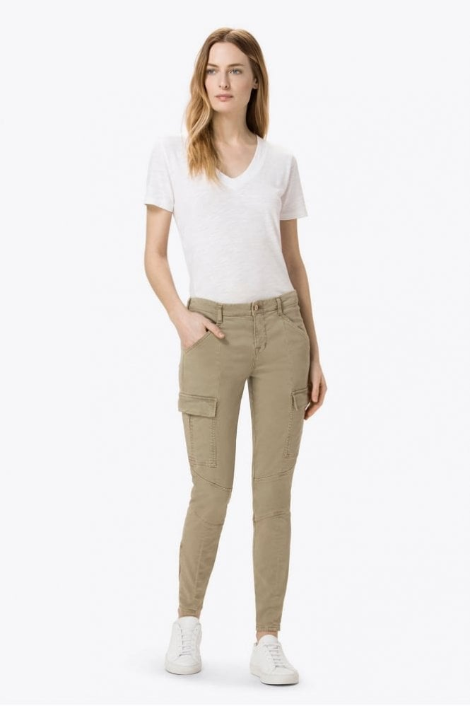 J Brand Houlihan Mid-Rise Cargo in Silver Sage