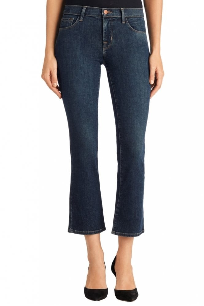 J Brand Selena Crop Boot Cut in Lonesome