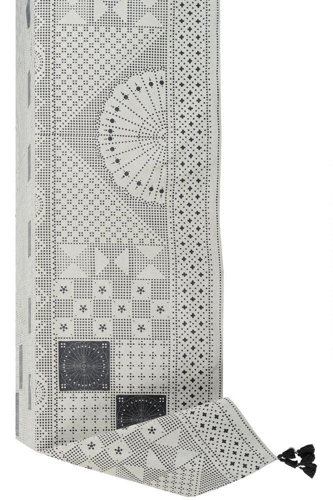 jardin d 39 ulysse eclectic square tablecloth at sue parkinson. Black Bedroom Furniture Sets. Home Design Ideas