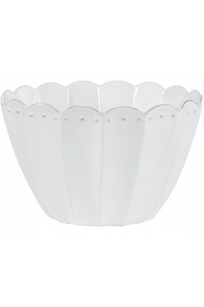 Jardin d 39 ulysse margaux salad bowl in white at sue parkinson for Jardin d ulysse