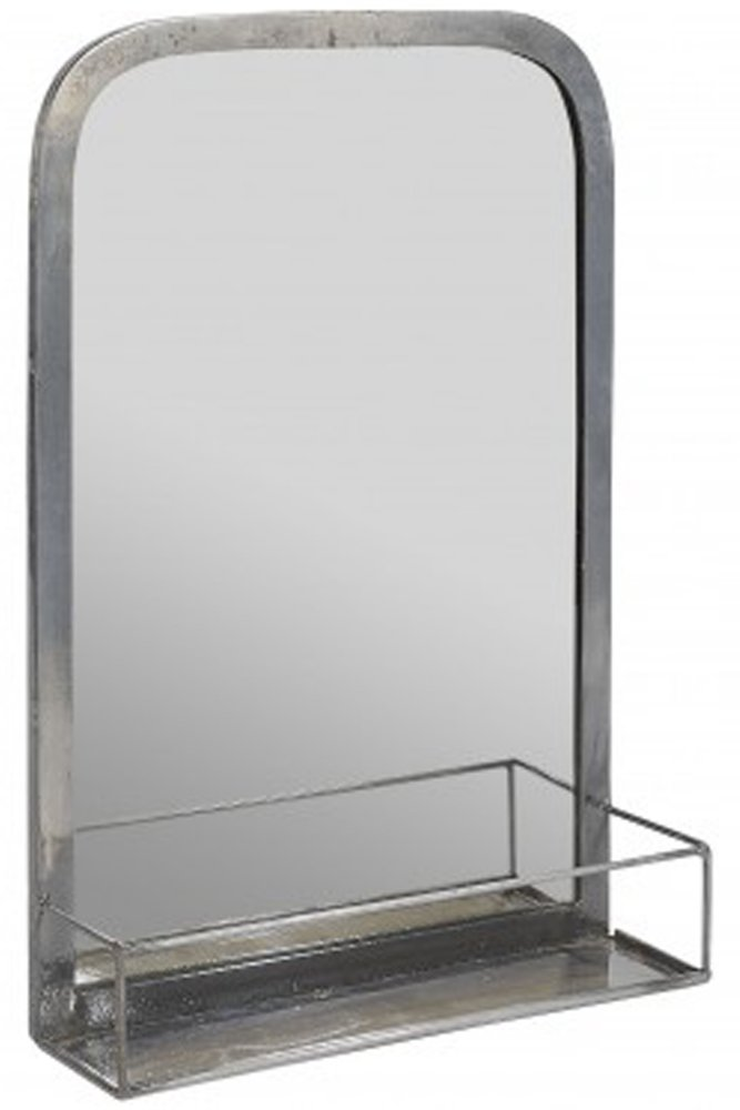 jardin d 39 ulysse metal mirror with shelf at sue parkinson. Black Bedroom Furniture Sets. Home Design Ideas