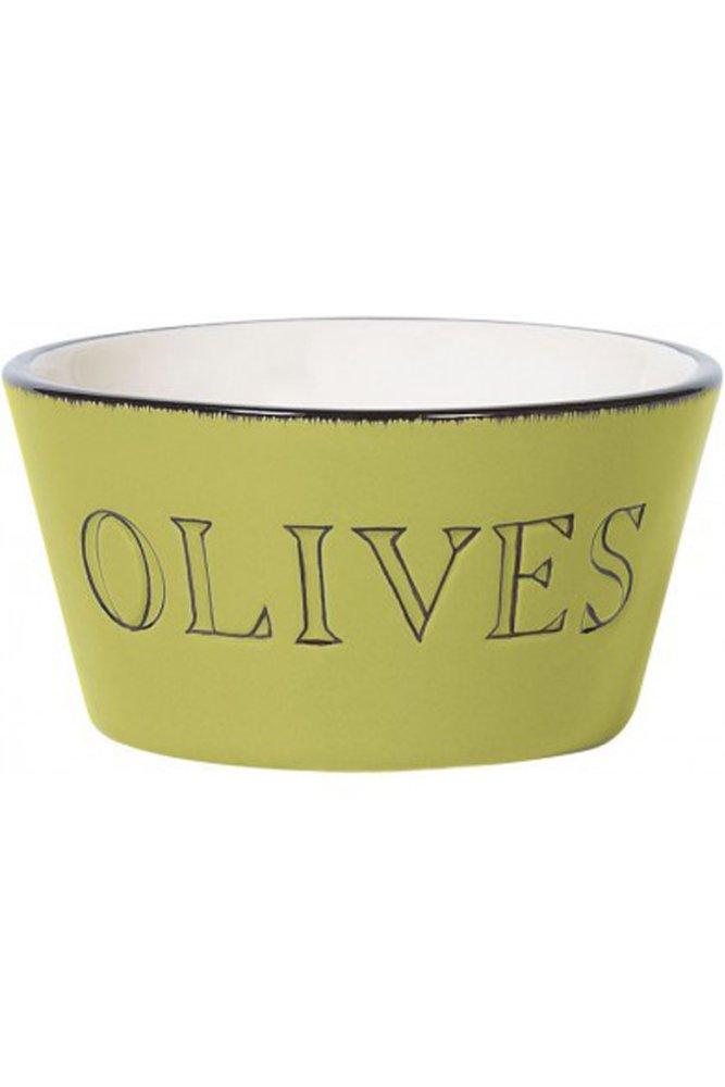 jardin d 39 ulysse olive bowl in green and black at sue parkinson. Black Bedroom Furniture Sets. Home Design Ideas