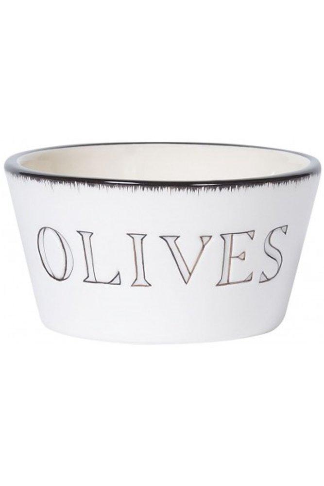 Jardin d 39 ulysse olive dish in white at sue parkinson for Jardin d ulysse