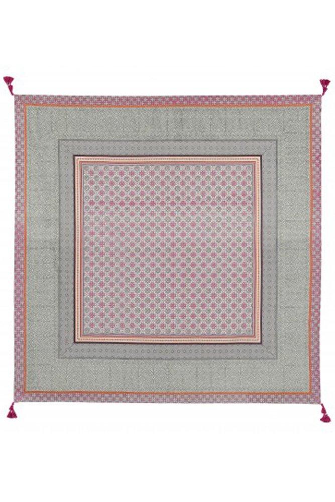 jardin d 39 ulysse tablecloth in purple grey and orange at. Black Bedroom Furniture Sets. Home Design Ideas
