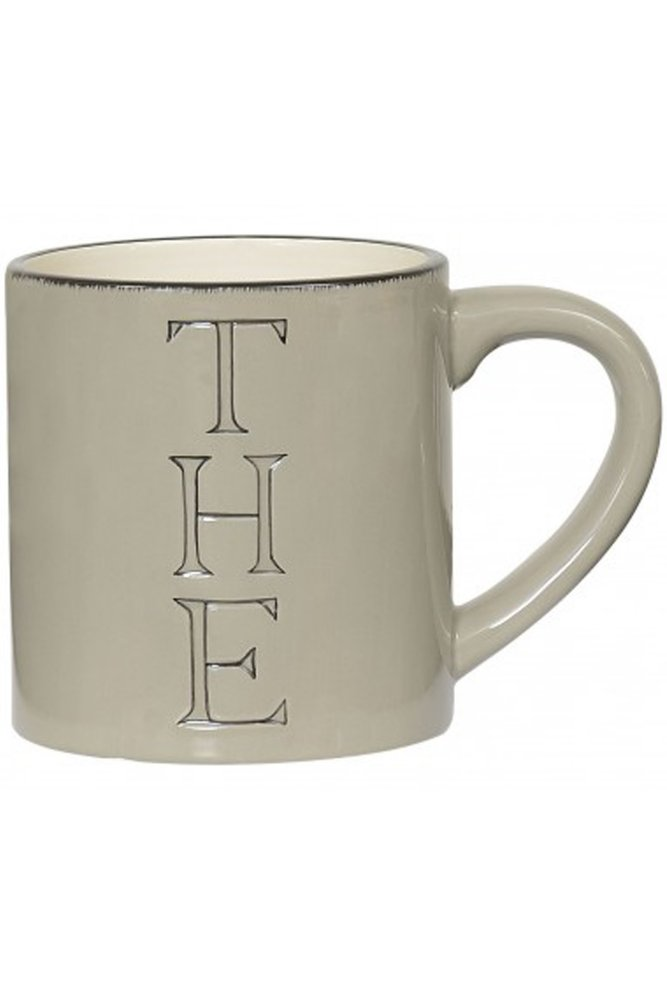 Jardin d'Ulysse Tea Mug in Beige at Sue Parkinson