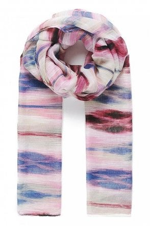 Abstract-Print Scarf