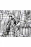 Jewelcity Blue/Grey Check Thick Scarf
