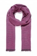 Jewelcity Fuchsia Reversible Knitted Scarf