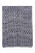 Sunday Grey Reversible Knitted Scarf