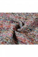 Sunday Multi Coloured Knitted Scarf