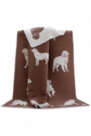 Dog Blanket in Brown