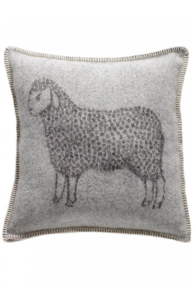 JJ Textiles Sheep Cushion in Grey