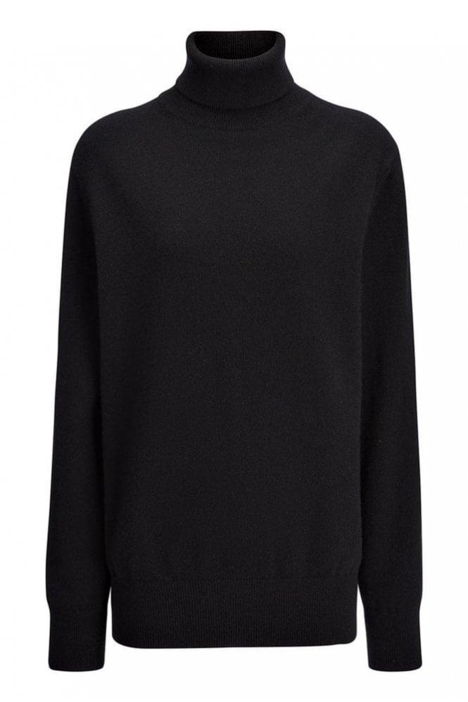Joseph Cashmere 12gg Roll Neck Sweater in Black